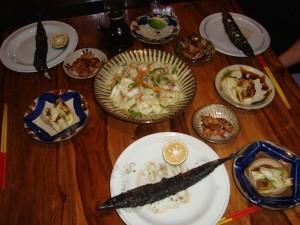 ある夜の食卓