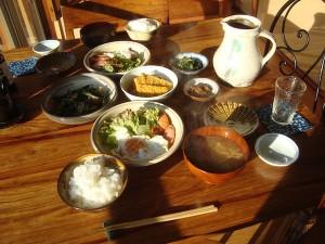 ある朝の食卓