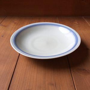 有田 大日窯 線紋6.8寸皿