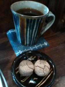 コーヒーときな粉クッキー