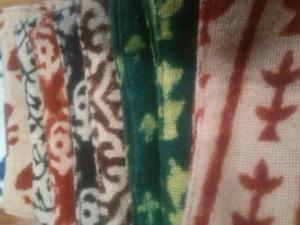 インドの布類
