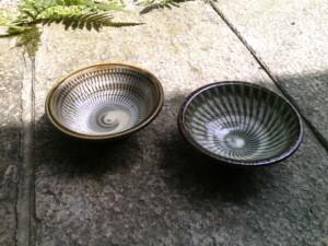 小鹿田 柳瀬朝夫窯 4寸鉢
