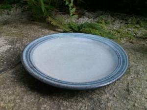 小代焼ふもと窯 7寸皿