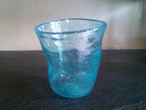 太田潤手吹き硝子工房 初期の頃のガラス